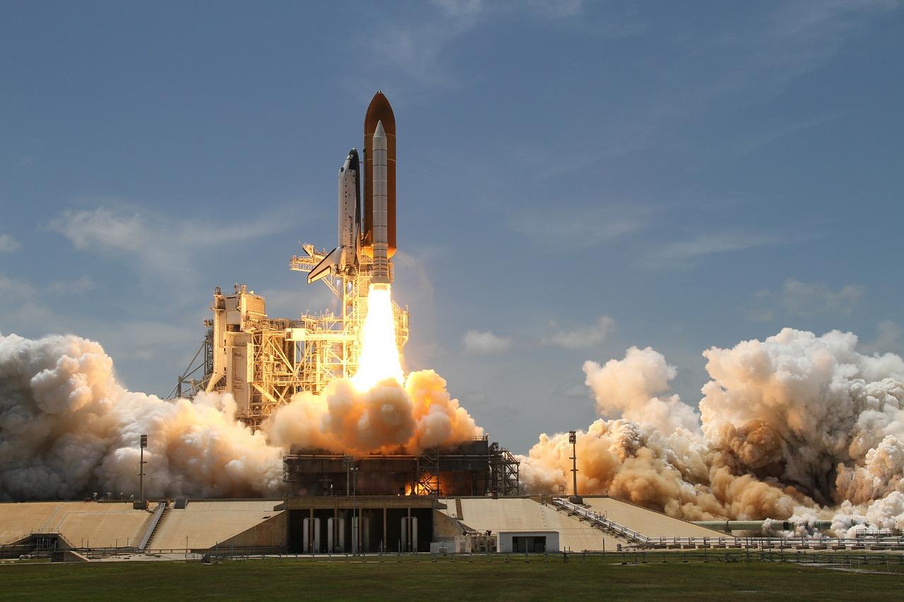 Der Start der Raumfähre (WSch/B2)