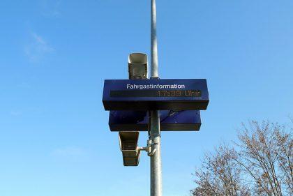 Lautsprecherdurchsage am Bahnhof (HV/A1-B1)